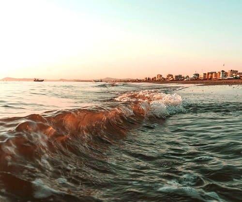 Море в Римини - фото