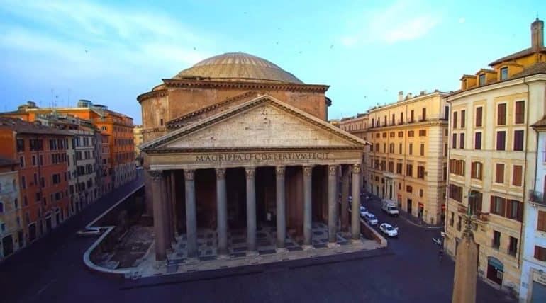 Пантеон в Риме - фото