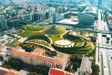 Милан (вид сверху) - фото
