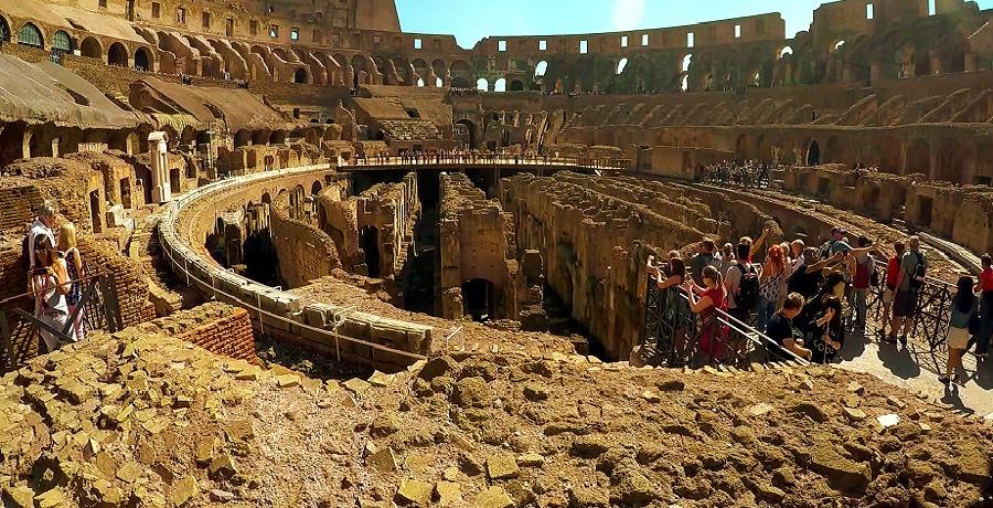 Гипогей Колизея (подземная часть) - фото