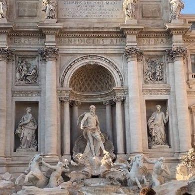 Фонтан Треви в Риме - фото