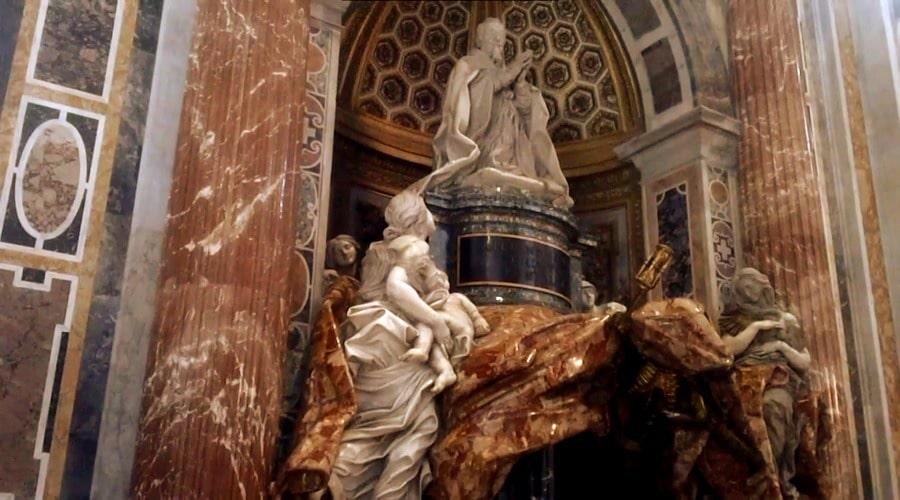 Гробница Папы Римского Александра VII расположенная в Соборе Святого Петра) - фото