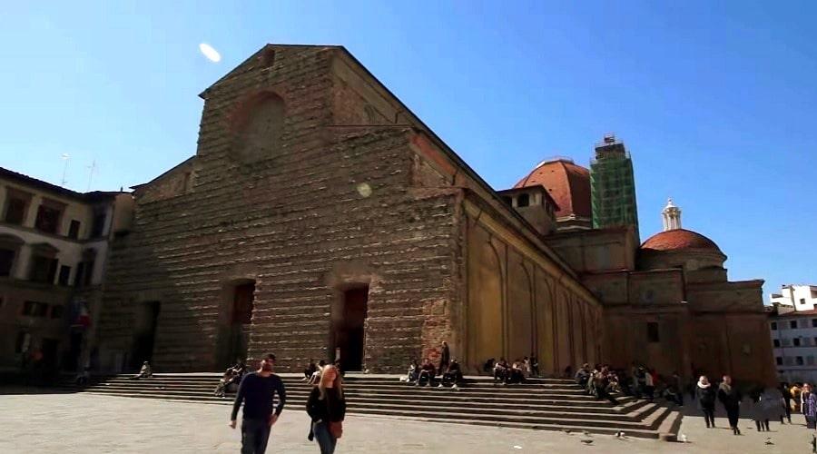 Базилика Сан-Лоренцо (Флоренция) - фото