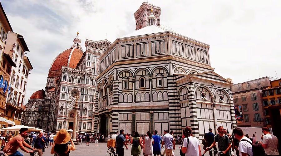 Баптистерий во Флоренции - фото