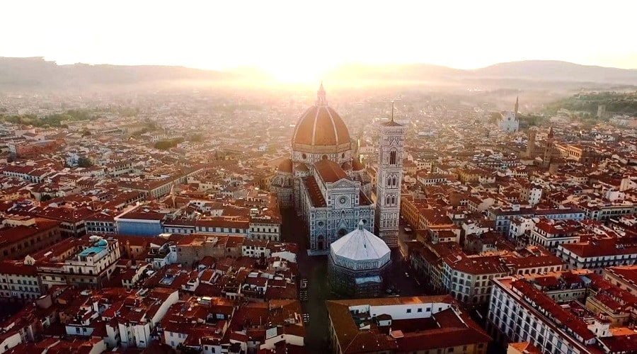 Собор во Флоренции Санта-Мария-дель-Фьоре - фото