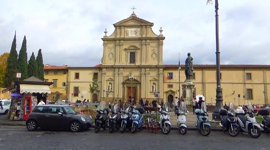 Комплекс Сан-Ма́рко состоящий из музея и базилики - фото