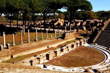 О́стия или О́стия Анти́ка древнеримский город - фото