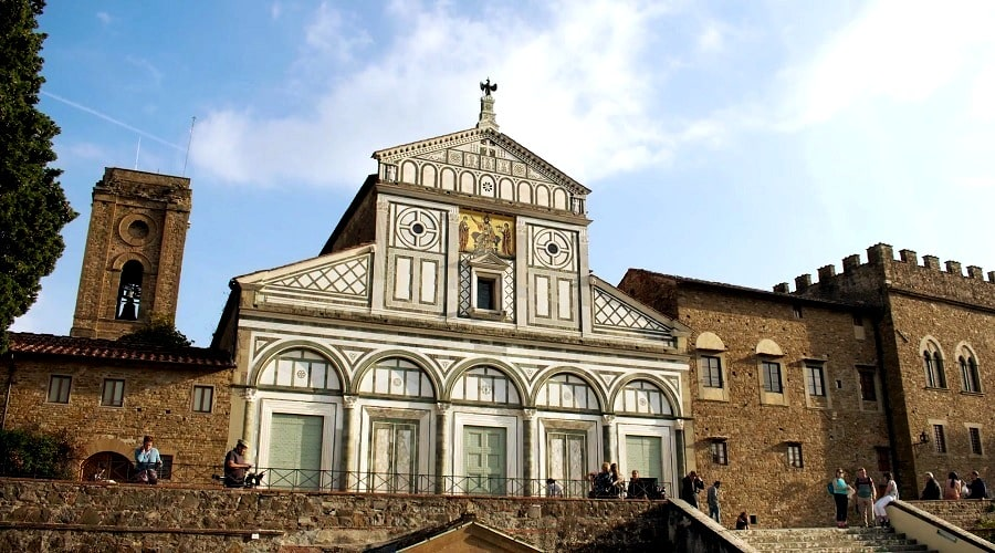 Базилика Сан Миниато аль Монте «святой Миний что на горе» - фото