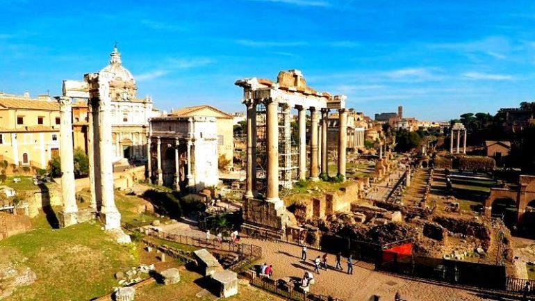 Римский форум (сооружения в центе Рима) - фото