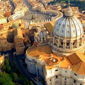 Государство Ватикан (Vatican city state) в Риме - фото