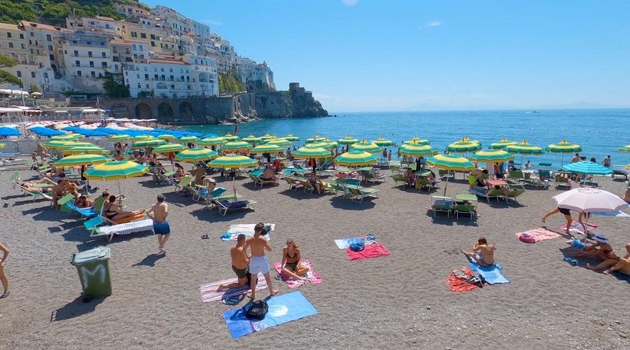 Пляж Амальфи - фото