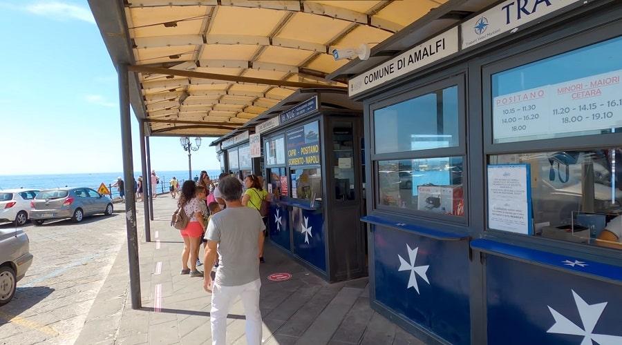 Расписание движения автобусов Амальфи - фото