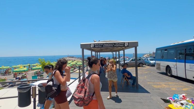 Автобусная остановка - фото
