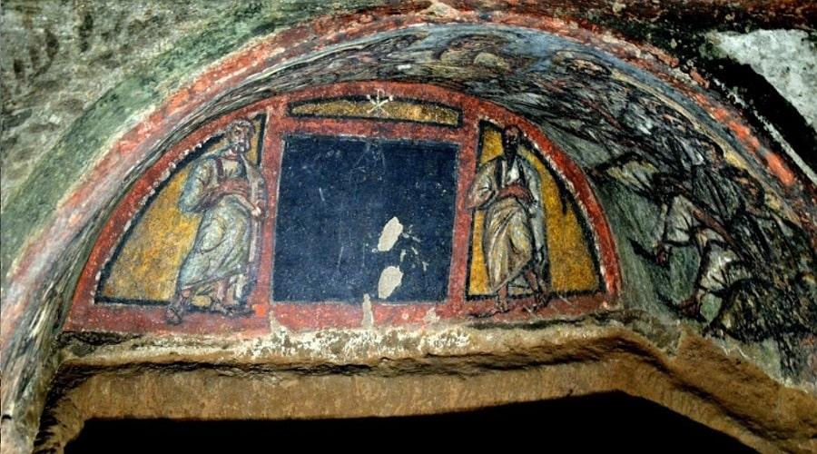catacombs_domitilla 3 - foto