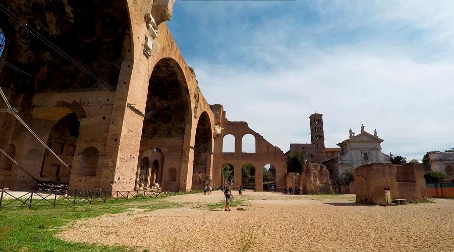 Архитектура Римского форума - фото