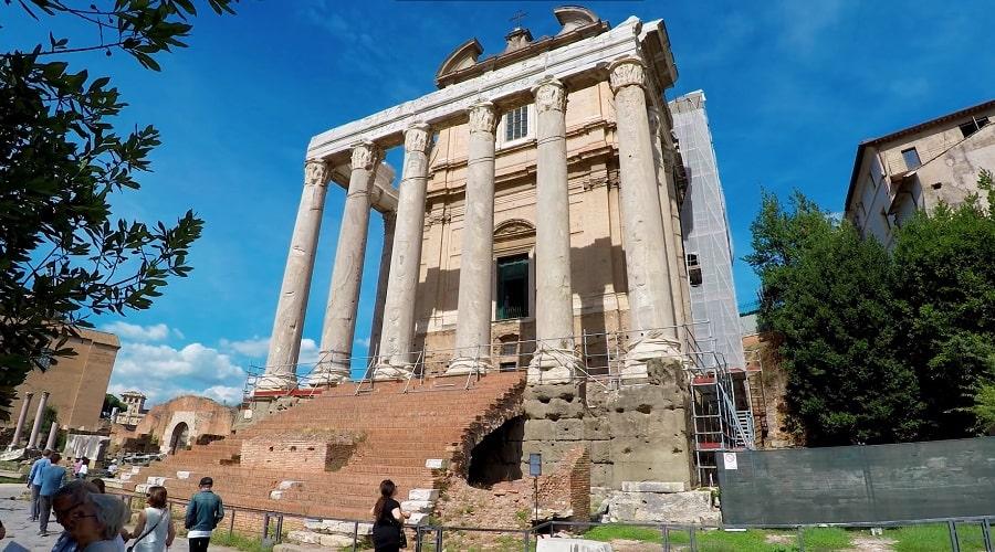 Храм (Римский форум) - фото