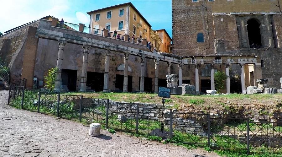 Римский форум и его архитектура - фото