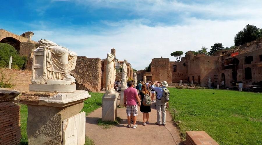Статуи Римского форума - фото