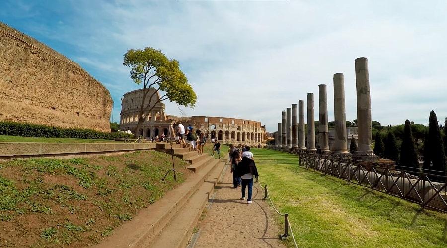 Римский форум (ВИД НА КОЛИЗЕЙ) - фото