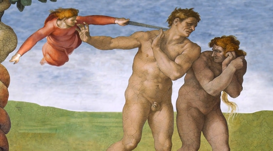 Картина в Капелле (Сикстинской) - фото