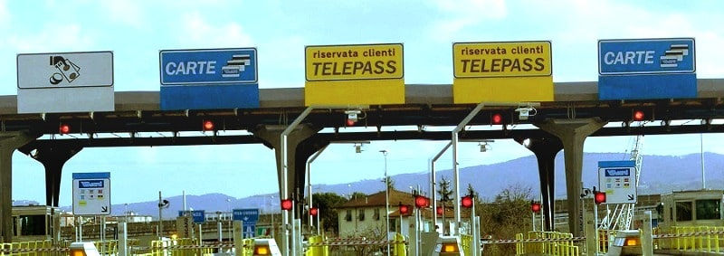 Места оплаты платных дорог - фото