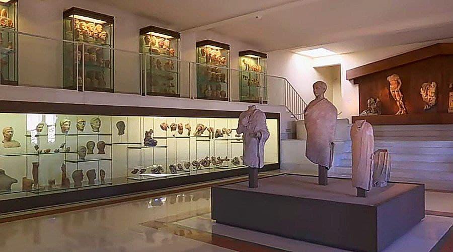 Григорианский этрусский музей - фото