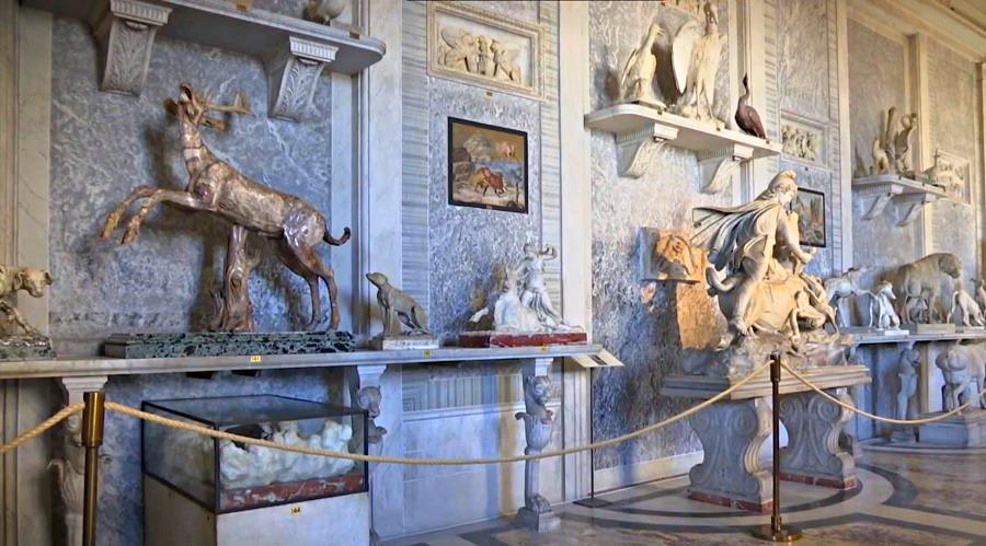 Музей Пио-Клементино (выставочный зал) - фото