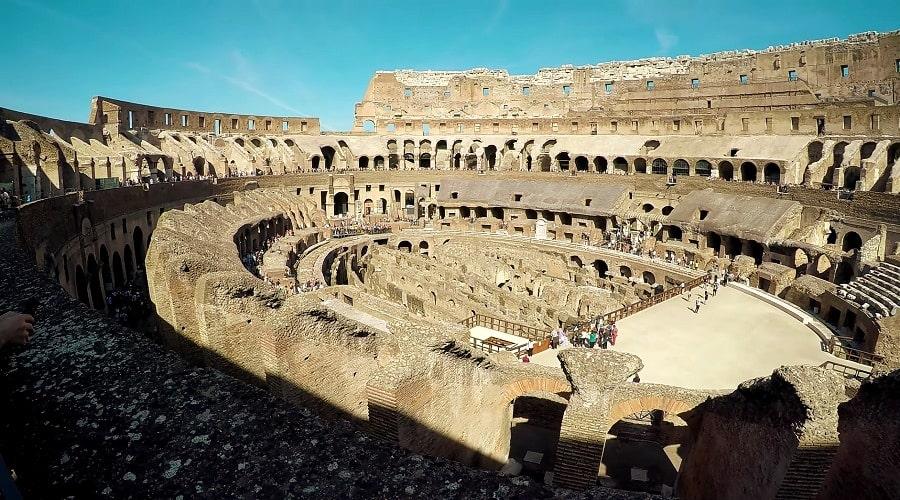 Фото гипогея Колизея 2